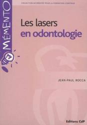 Les lasers en odontologie - Couverture - Format classique
