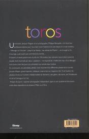 Toros - 4ème de couverture - Format classique