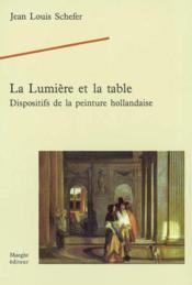 Lumiere et la table - Couverture - Format classique