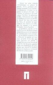 Capolavori ; chefs-d'oeuvre - 4ème de couverture - Format classique