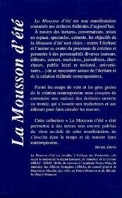 Mousson 2000 ; coffret 8 titres - Couverture - Format classique