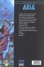 1; La Fugue D'Aria - 4ème de couverture - Format classique