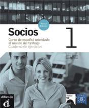 Socios 1 cuaderno de ejercicios + cd - Couverture - Format classique