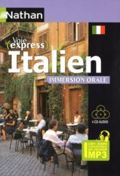Pack 3 CD ; italien ; immersion orale (édition 2009) - Couverture - Format classique
