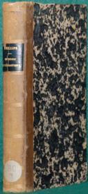 DU DROIT ECCLÉSIASTIQUE DANS SES SOURCES, CONSIDÉRÉES AU POINT DE VUE DES ÉLÉMENTS LÉGISLATIFS QUI LES CONSTITUENT, traduit par l'abbé CROUZET, prêtre du diocèse d'Autun, suivi D'UN ESSAI DE BIBLIOGRAPHIE DU DROIT CANONIQUE - Couverture - Format classique