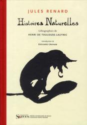 Histoires naturelles ; lithographies de Henri Toulouse-Lautrec - Couverture - Format classique