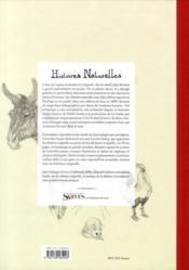 Histoires naturelles ; lithographies de Henri Toulouse-Lautrec - 4ème de couverture - Format classique