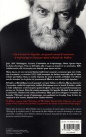 L'inconnue de Birobidjan - 4ème de couverture - Format classique
