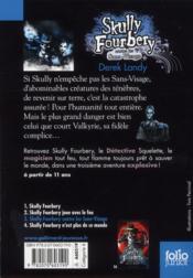 Skully Fourbery contre les sans-visage - 4ème de couverture - Format classique