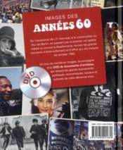 Images des années 60 - 4ème de couverture - Format classique