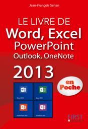 Livre de excel, word, powerpoint, onenote 2013 - Couverture - Format classique