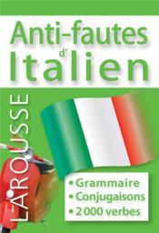 telecharger Anti-fautes d'italien livre PDF en ligne gratuit