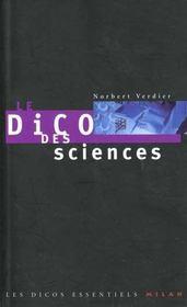 Le dico des sciences - Intérieur - Format classique