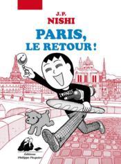 Paris, le retour ! - Couverture - Format classique