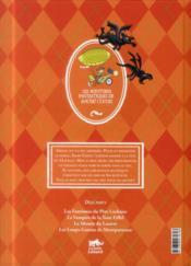 Les Aventures Fantastiques De Sacré Coeur ; Les Gargouilles De Notre-Dame - 4ème de couverture - Format classique