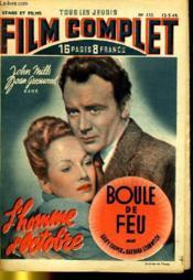 Stars Et Films - Tous Les Jeudis Film Complet N° 153 - L'Homme D'Octobre Et Boule De Feu - Couverture - Format classique