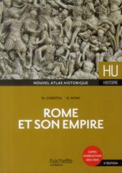 HU HISTOIRE ; Rome et son Empire - Couverture - Format classique