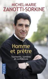 Homme et prêtre ; tourments, lumières et confidences - Couverture - Format classique