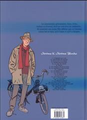 Jérôme K. Jérôme Bloche T.17 ; la marionnette - 4ème de couverture - Format classique