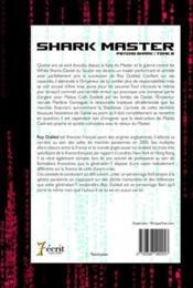 Master shark t.2 ; psycho shark - 4ème de couverture - Format classique