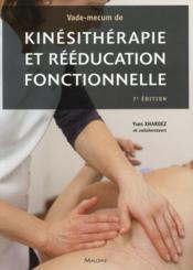 Vade-mecum de kinesitherapie et de reeducation fonctionnelle, 7e ed - Couverture - Format classique
