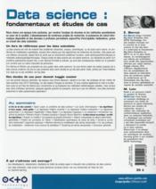 Data science : fondamentaux et études de cas - 4ème de couverture - Format classique