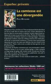 Les interdits T.472 ; le kinési pervers - 4ème de couverture - Format classique