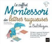 Le coffret Montessori des lettres rugueuses de Balthazar - Couverture - Format classique