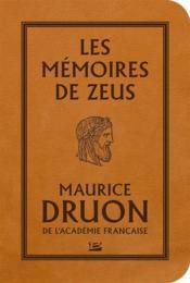Les mémoires de Zeus - Couverture - Format classique