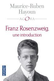 Franz Rosenzweig ; une introduction - Couverture - Format classique