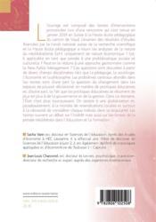 Néolibéralisme et éducation ; éclairages de diverses disciplines - 4ème de couverture - Format classique