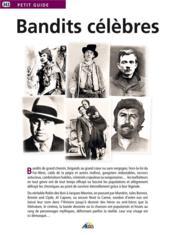 Bandits célèbres - Couverture - Format classique
