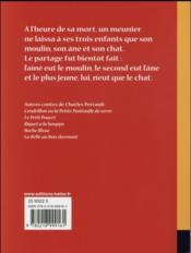 Ribambelle ; le maître chat ; CE1 - 4ème de couverture - Format classique
