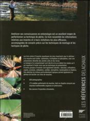 Guide entomologique du pêcheur à la mouche ; de l'insecte naturel à son imitation - 4ème de couverture - Format classique