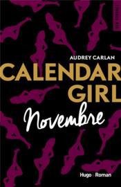 Calendar girl T.11 ; novembre - Couverture - Format classique