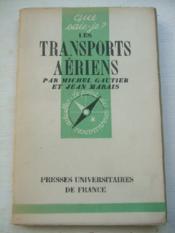 Les Transports Aériens - Que-sais-je n° 359 - Couverture - Format classique