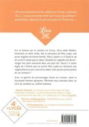 Colomba - 4ème de couverture - Format classique