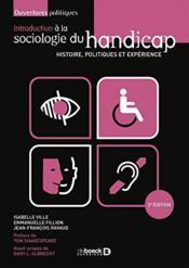 Introduction à la sociologie du handicap - Couverture - Format classique