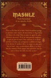 Mashle T.1 - 4ème de couverture - Format classique