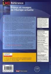 Enjeux Et Rouages De L'Europe Actuelle - Couverture - Format classique