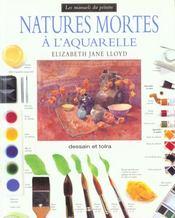 Natures Mortes A L'Aquarelle - Intérieur - Format classique