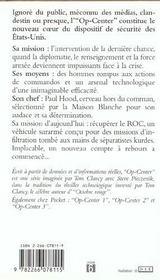 Op-center T.4 ; actes de guerre - 4ème de couverture - Format classique