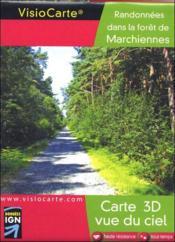 Forêt de marchiennes ; carte 3D vue du ciel - Couverture - Format classique