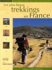 Les plus beaux trekkings en france - Intérieur - Format classique