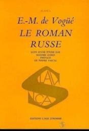 Le Roman Russe - Couverture - Format classique