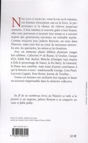 Les reines du faubourg - 4ème de couverture - Format classique