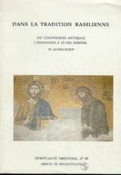 Dans La Tradition Basilienne - Couverture - Format classique