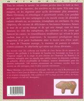 Un gouter chez l ogresse - 4ème de couverture - Format classique