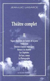 Theatre Complet Ii - Intérieur - Format classique