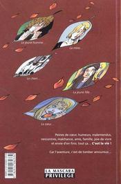 C'Est La Vie - 4ème de couverture - Format classique